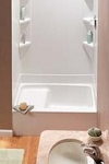 RV BATH TUB W/SEAT - 32