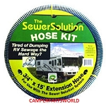 Sewer Solution 15' Extension Sewer Hose SS15