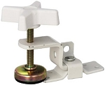 RV Fold-out Bunk Clamp - White