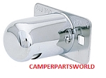 Chrome RV License Plate Light