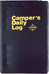 Camper Daily Log Refill Pages