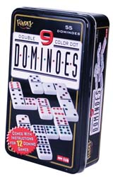 RV Games - Professional Double Nine Dominoes