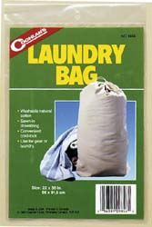 Laundry Bag 22 Inch Diameter x 36 Inch Height; With Drawstring Closure; Without Strap; Cotton