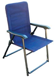 RV Elite Folding Chair Blue