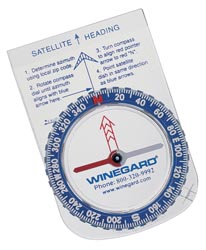 RV Satellite Allignment Compass