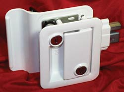 RV Door Lock- White