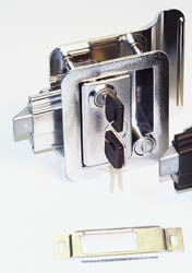RV Door Lock, Chrome