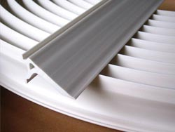 Black Streak Relief Gutter Inserts White 36 ft