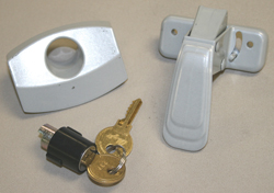 Camper Latch w\Lock & 2 Keys