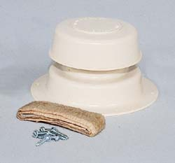 Plumbing Vent Kit, Col. White