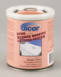 Dicor RP-CRP-Q Dicor RV Rubber Roof Primer Cleaner 1 Qt