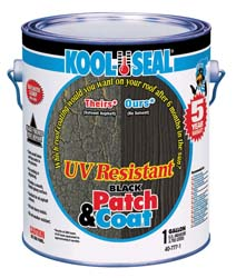 RV UV Resistant Black Patch & Coat, 1 gal.