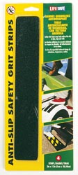 Anti-Slip Safety Grit Strip Black