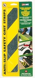 Anti-Slip Safety Grit Strips Yellow\Black