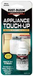 Appliance Touch Up Paint, White, .6 fl. oz