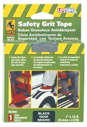 Anti-Slip Grit Tape 1 inchx15 ft