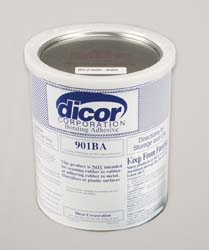 DICOR 901BA-1 1 GALLON EPDM RUBBER ROOF SYSTEM WATER BASED ADHESIVE
