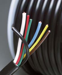 7 Conductor Multi-Gauge Wire
