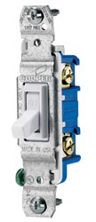 Toggle Light Switch White