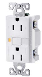 Ground Fault Circuit Interrupter Receptacle Ivory