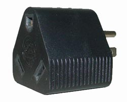 RV Electrical Adapter Plug - 30A Female-15A Male - Triangle