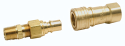 Quick Connector 3\8 inch MPT x 3\8 inch FPT