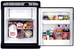 Norcold RV Refrigerator Door Panel - Black