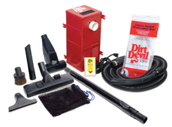 RV Central Vacuum System By Dirt Devil - W/Attachments - CV950