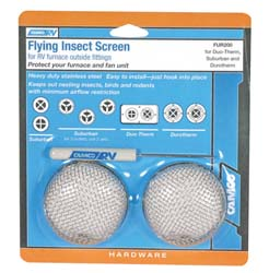 RV Furnace Screen-Flying Insect Screen