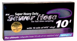 Super Heavy Duty Sewer Hose, 10'