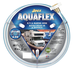 RV/Marine Water Hose, 1/2 in x 50 ft