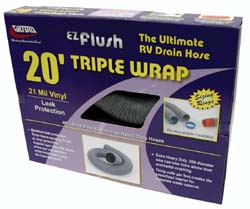 EZ Flush Triple Wrap Hose, 3
