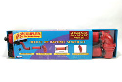 EZ Coupler Bayonet Sewer Kit, Deluxe