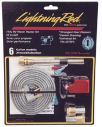 RV Lightning Rod -110V Heating Element