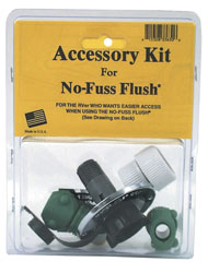 No-Fuss Flush Accessory Kit