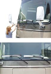 Windshield Wipers\Mirror Covers Combo