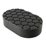 Hex Logic Black Finishing Hand Pad