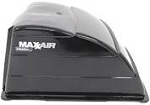 MaxxAir Ventilation Solutions Black Roof Vent