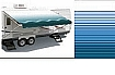 Carefree Rv Awning, 16ft, Ocean Blue Simplicity Plus (hardware not included)