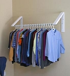 Quikcloset Wall Mounted Clothes Storage System AH3X12M