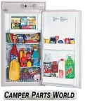 Norcold Compact Gas\Elect Rv Refrigerator, 2- Way, Left Opening