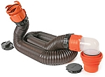 RhinoFLEX 15' RV Sewer Hose  Kit