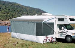 RV Awnings, Screen Rooms By Carefree -21' Add-A-Room White