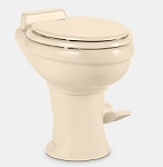 Dometic Sealand 320 Standard Height Ceramic RV Toilet, Bone