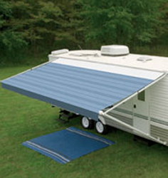 Dometic A&E Sunchaser Awning - 8 ft. Polar White Vinyl Weathershield