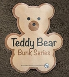 Teddy Bear Bunk Series Chocolate  28 Inch x 74 Inch
