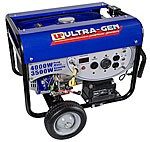 Portable Generator, 3500W, Electric Start
