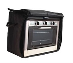 Camp Chef Black 13-1/2 Inch Length x 21-1/2 Inch Width x 18-1/2 Inch Height Campfire Cookware Storage Bag