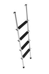 Stromberg Carlson Aluminum 4 Steps 5 Foot Ladder