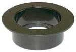 Icon Black 1-1/2 Inch Diameter Waste Holding Tank Fitting